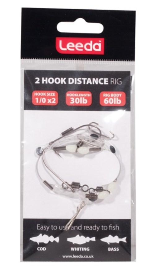 Leeda 2 hook distance rig