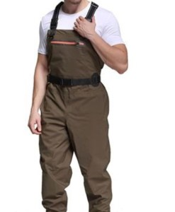 Breathable chest waders