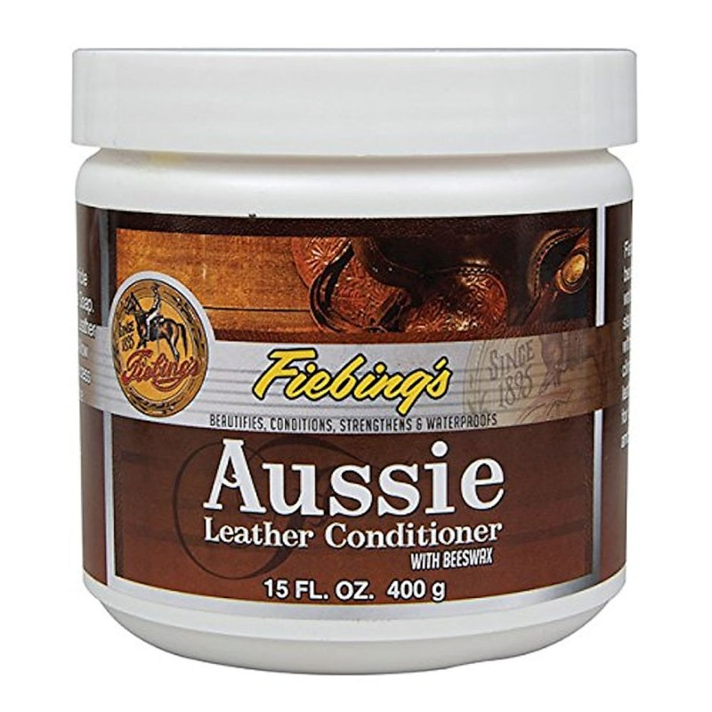 fiebings aussie leather conditioner 15oz from Hill saddlery