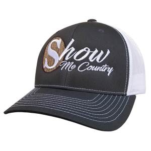 show-me-country-grey-trucker-hat-front