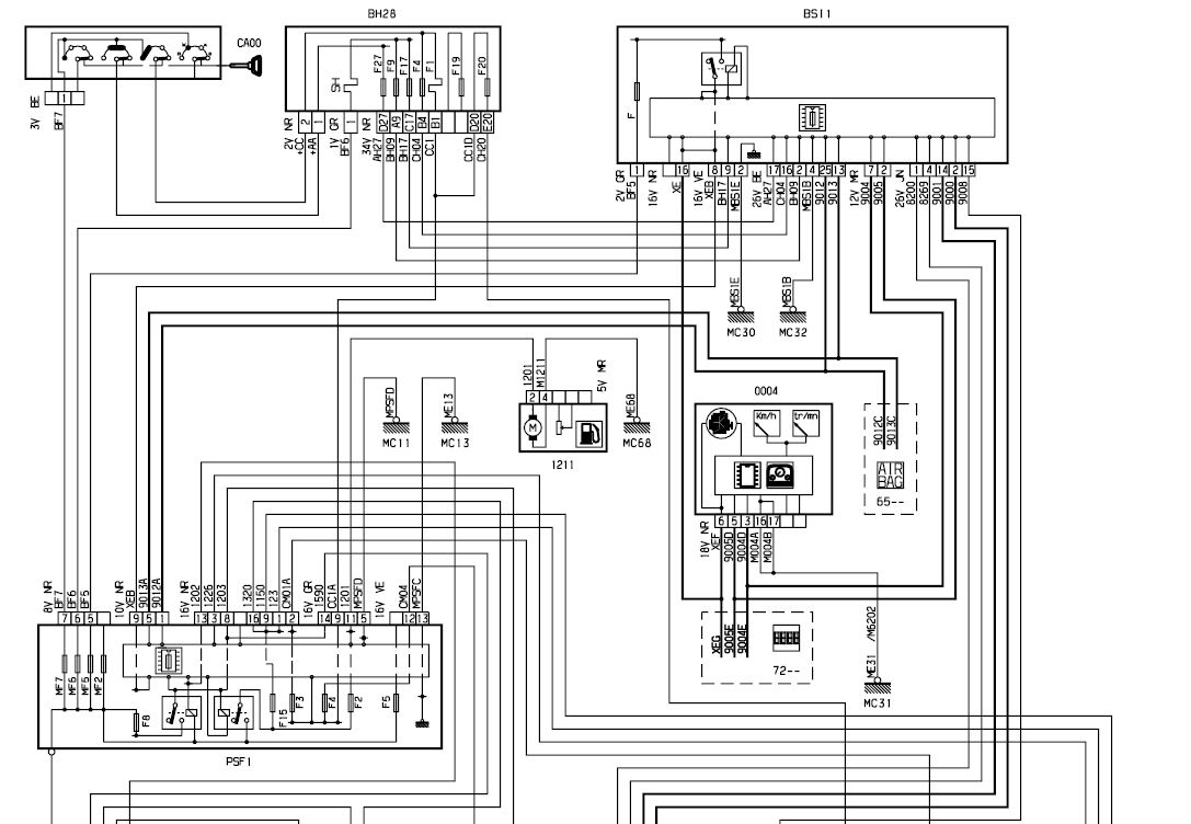 Citroen Saxo Heater Wiring Diagram | Wiring Liry on