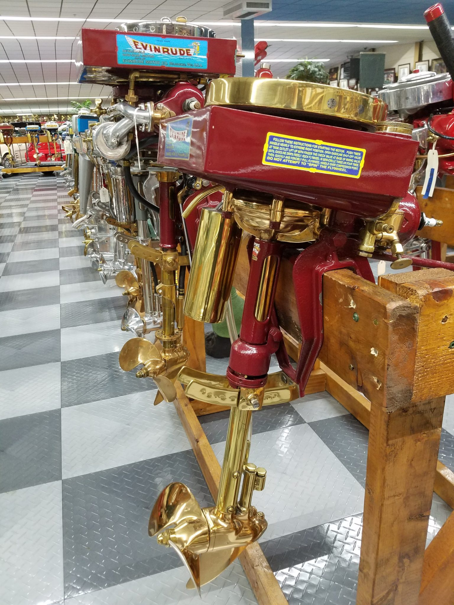Outboard Motors 05 – Tallahassee Automobile Museum
