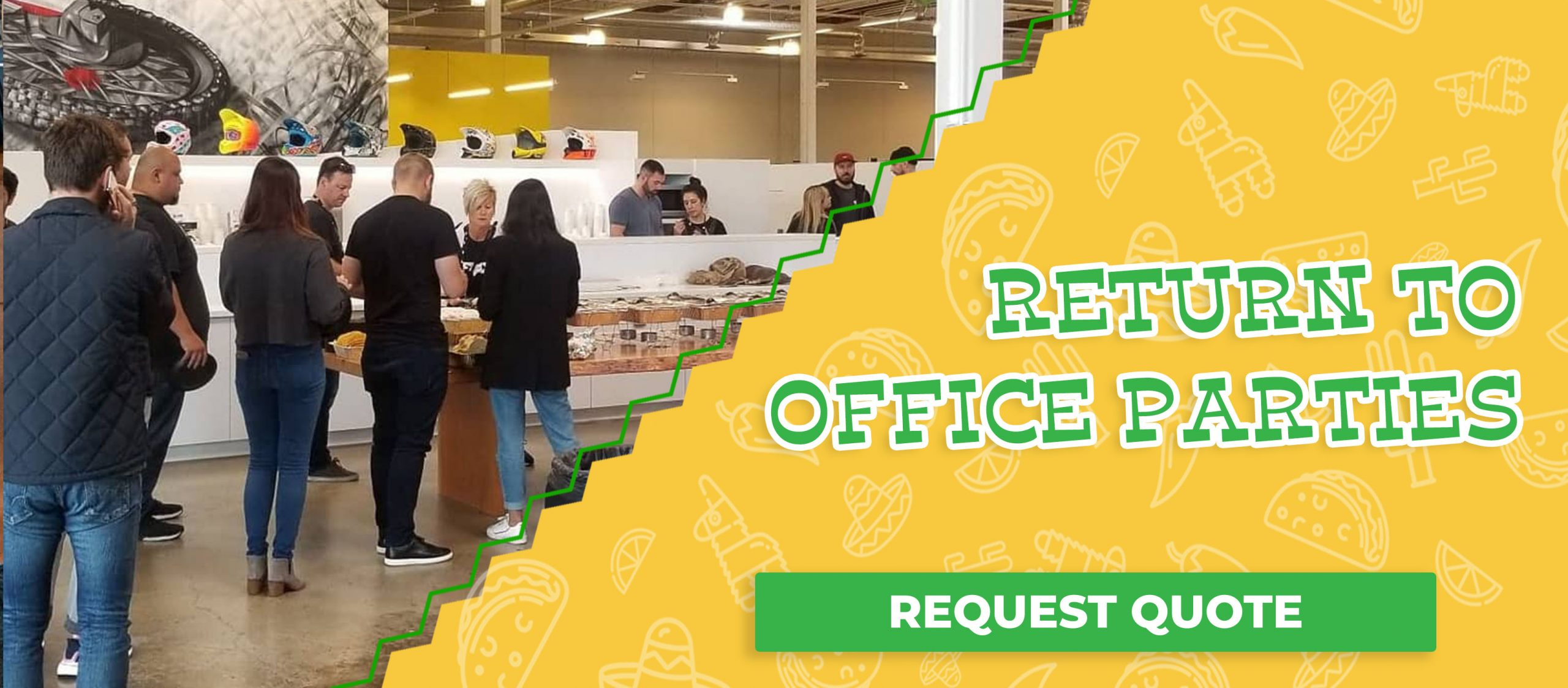 Return To Office Lunch Parties For Employees, Request Quote Today!