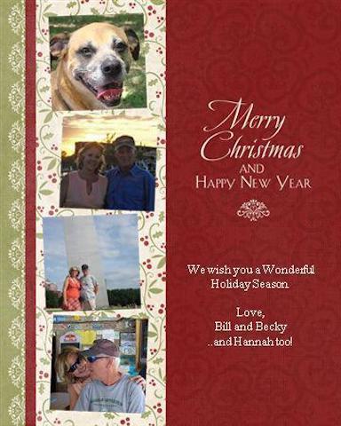 Virtual Christmas card