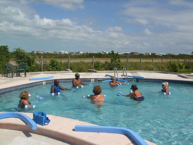 Aqua-Fit classes at the San Pedro Fitness Club