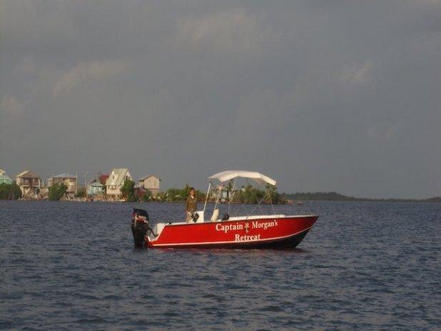 Captain Morgan's boat