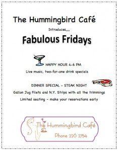 hummingbirg cafe ambergris caye