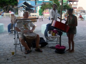 Belize Drumming