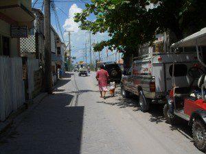 Side street detour