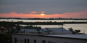 Watching Sunset wirh big Erin