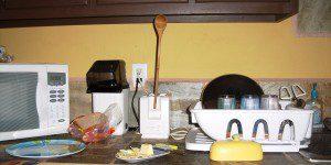 My cousin Erin's fix for broken toaster