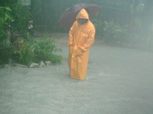Annual Rainfall Belize