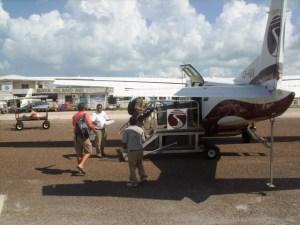 Tropic Air Cessna Caravan Ambergris Caye Belize