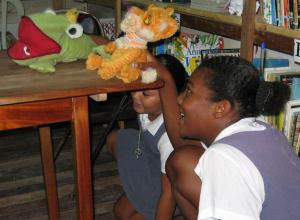 Be Kind Belize at Holy Cross School