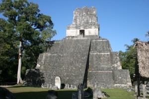 In Transit Tikal Guatemala