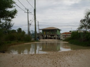 Tropical Storm Matthew Ambergris Caye Belize