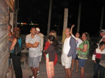 Saga cook off fundraiser at Tacklebox Bar and Grill San Pedro Belize