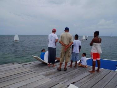 San Pedro Sailing Club Optimist Dingy Race