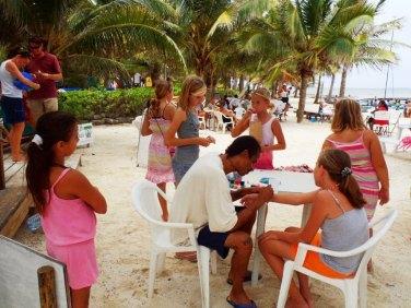 Caribbean Villas beach Resort Ambergris Caye Belize