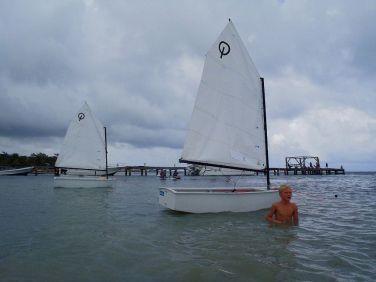 44 kids loved the dinghys