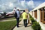 Manuel Heredia at Tropic Air San Pedro Town Ambergris Caye Belize
