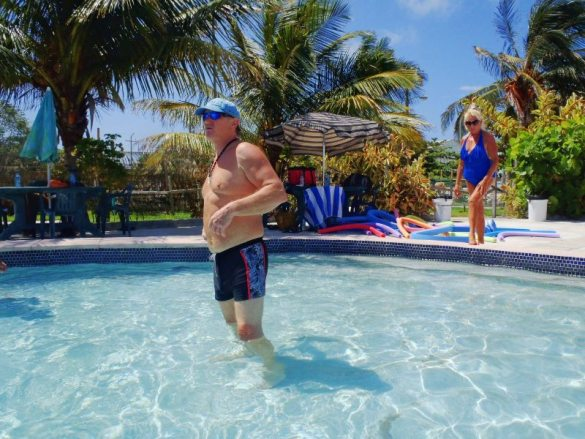 Fun in the Sun Aquafit Classes San Pedro Belize