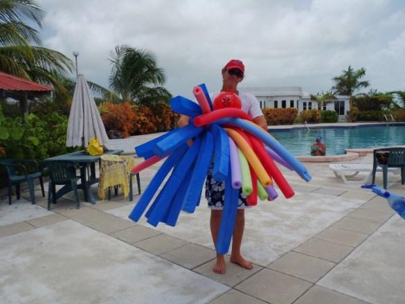 Saturday Aquafit Class San Pedro Belize
