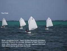 Belize Regatta Optimist class dinghies