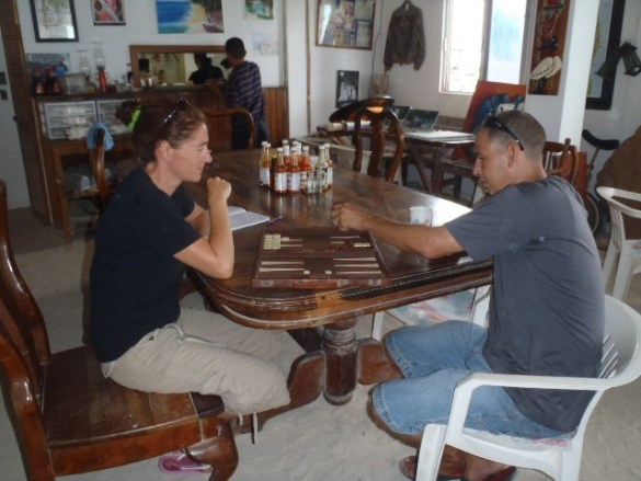 Belize Backgammon tournamnt
