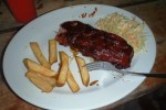 Charles world famous Belize barbecue ribs
