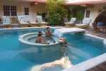 swimming in belize pictures