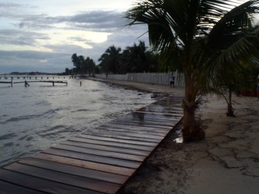 tropical weather information belize