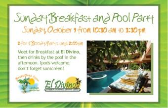 El Divino belize breakfast pictures