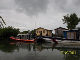 new belize coast guard boat