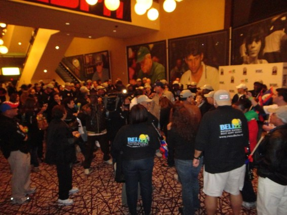 Lobby of the Penn and Teller Theater Rio Hotel Vegas