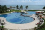 Grand Caribe luxury resort belize swimming vacation