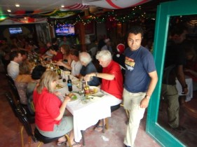 christmas lunch pedro's