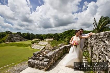 tropical destination wedding belize