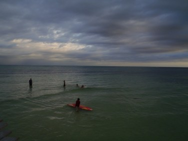 surfing in belize