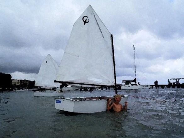 San Pedro Sailing Club Optimist Dingy