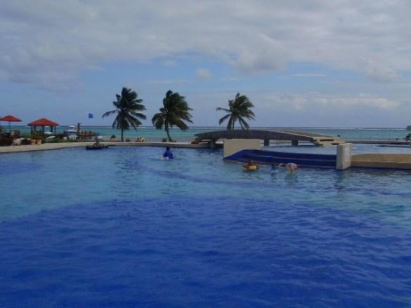 cowboy dougs pool bar at grand caribe resort