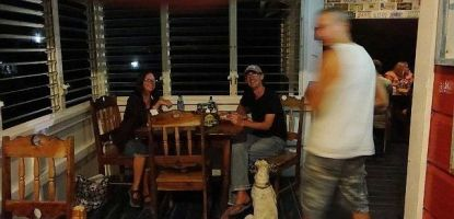 legends burger house north ambergris caye belize
