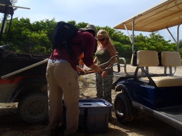 Marco Gonzales maya site ambergris caye