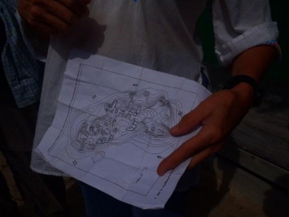 maya ruin map