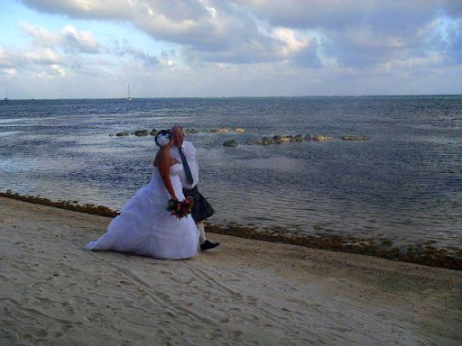 belize beach wedding