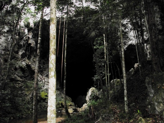 belize caving