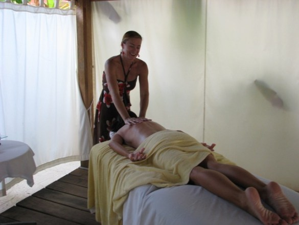 san pedro belize massage