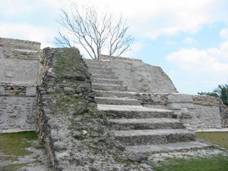 cerros ruins corozal district belize
