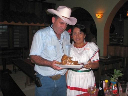 Elvis kitchen San Pedro Belize restaurant