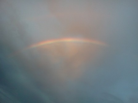 a pic of a rainbow